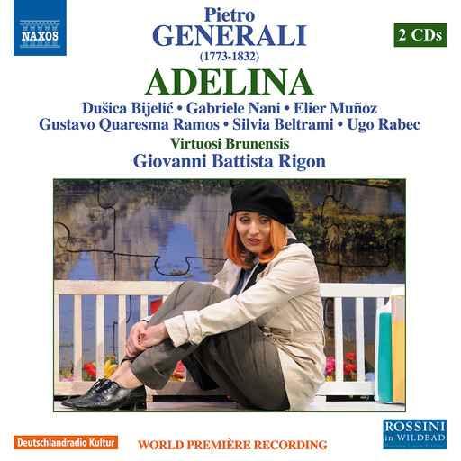 CD REVIEW: Pietro Generali - ADELINA (NAXOS 8.660372-73)