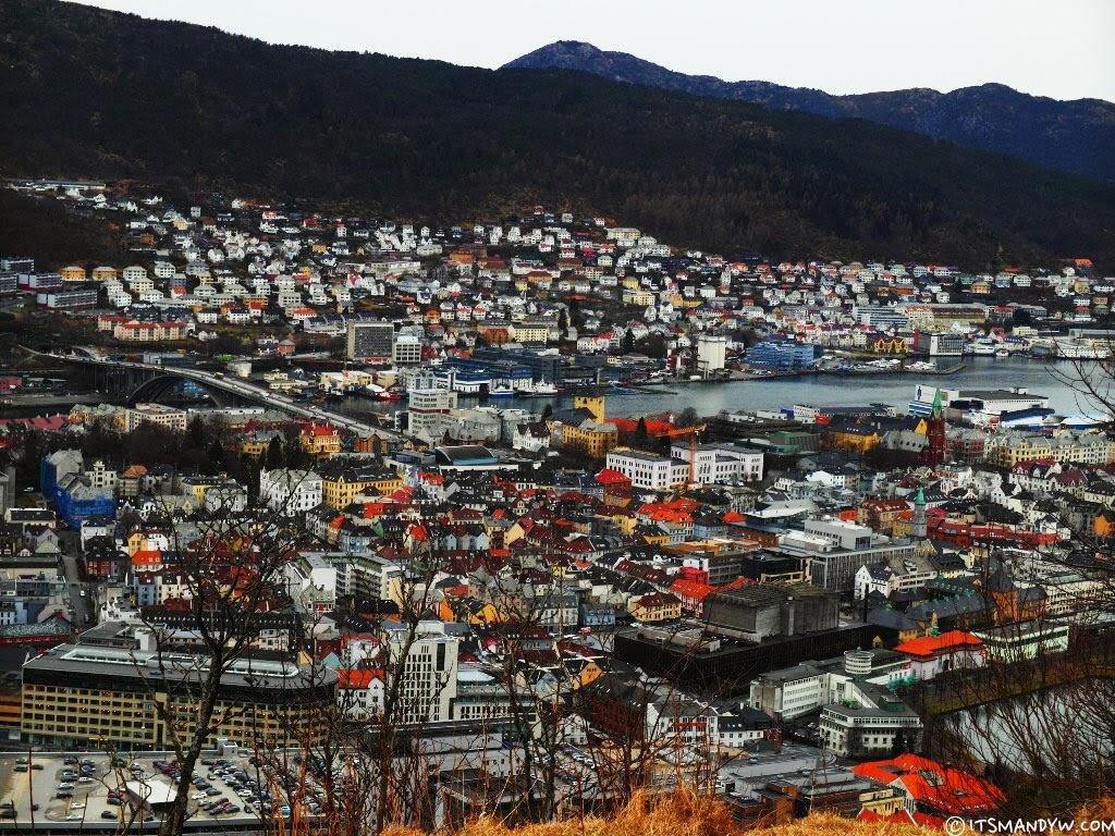【挪威】長長的路要揮霍的走 - Mount Fløyen 健行記