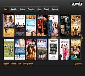 Viewster Leanback Google TV Channel