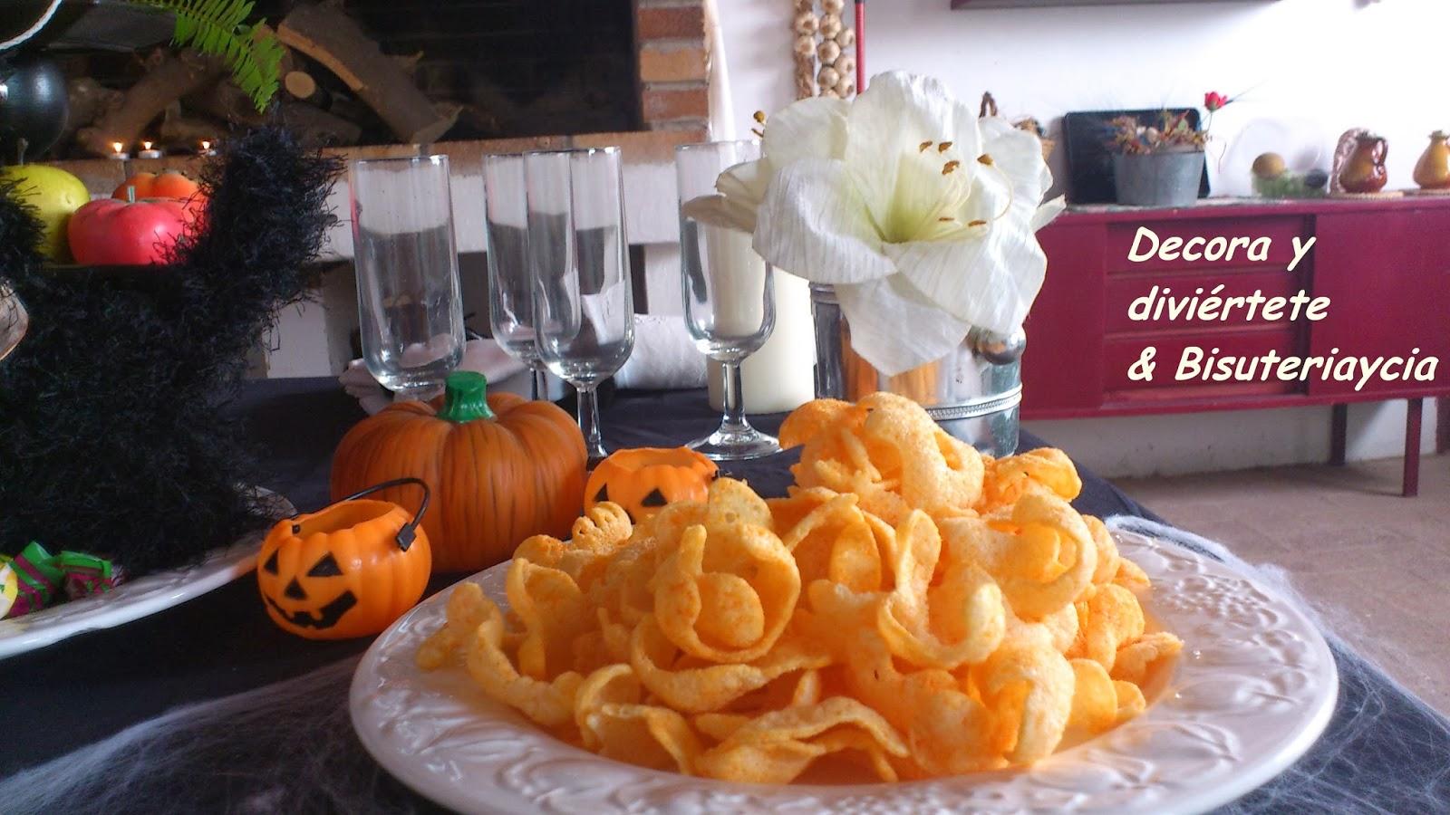 La decoraci n de una mesa de halloween casera - Decoracion halloween casera ...
