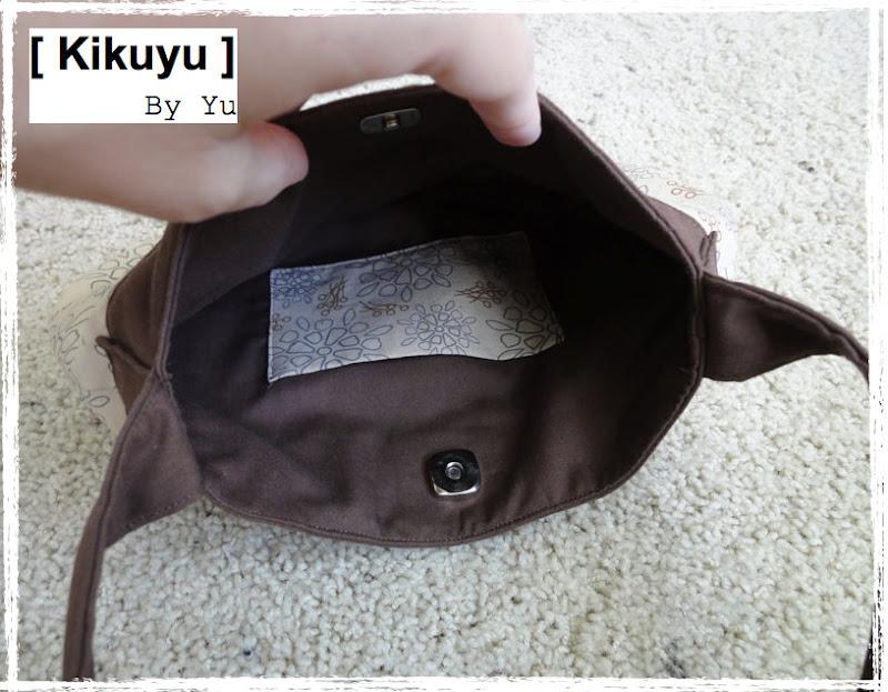 buttercup bag inside