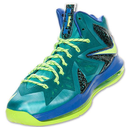 ajordanxi\u0026#39;s Sneaker World: Nike LeBron X PS Elite Sport Turquoise/Volt-Violet Force Release Reminder