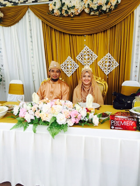 Gambar kahwin daie adibah rozain