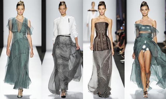 Moda: Carolina Herrera Presenta Colección Primavera 2014 en Semana de la Moda de New York