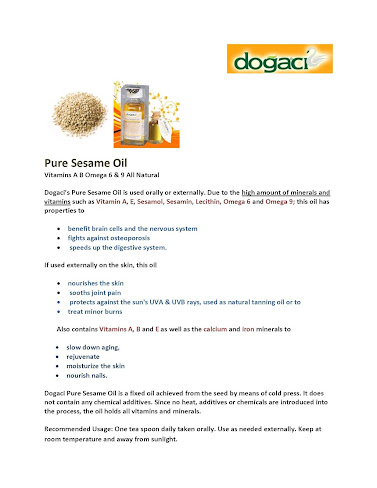Dogaci Pure Sesame Oil