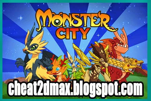 Monster City, Cheats, Bucks, Gold, Food, Hack