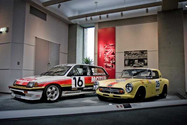Honda Civic Si 3-Gen. & Honda S800 RSC race car sportowy japoński samochód stary kultowy oldschool klasyk
