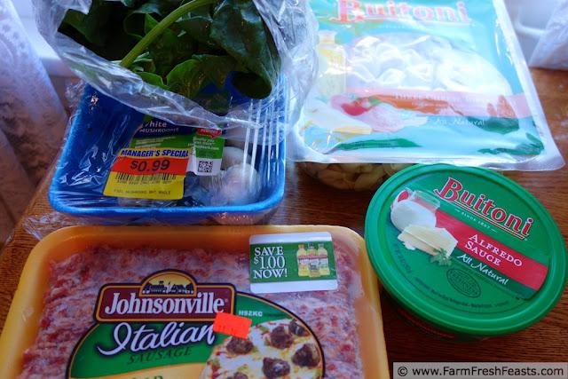http://www.farmfreshfeasts.com/2013/01/spinach-sausage-alfredo-tortellini.html
