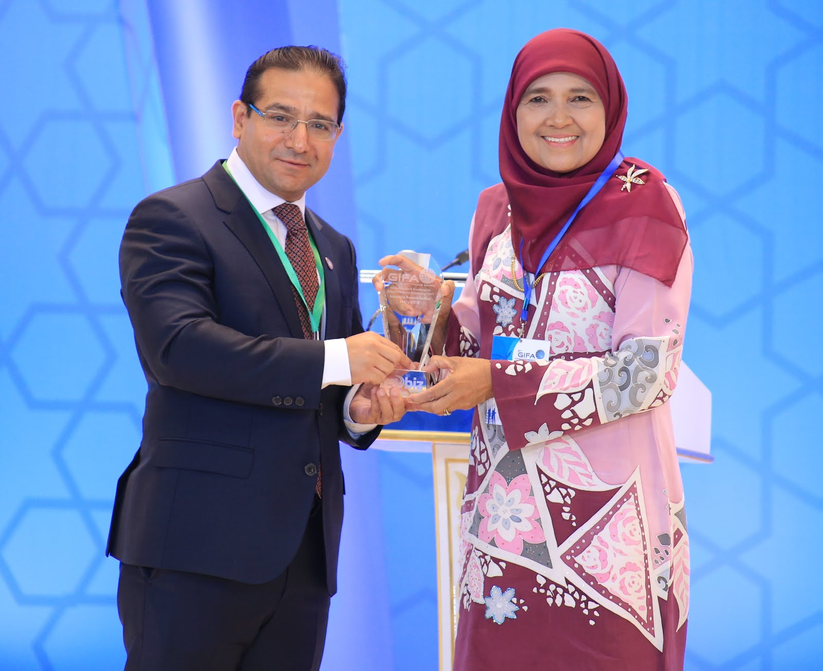 GIFA Special Awards 2017 for Advocacy of Islamic Financial Criminology