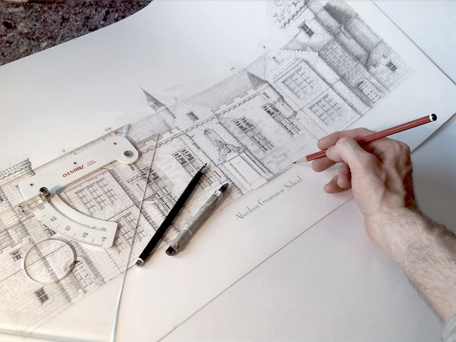02-Aberdeen-s-The-Grammar-Jamie-Cameron-Intricate-Architectural-Drawings-and-Illustrations-www-designstack-co
