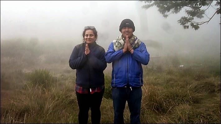 Wisatawan dari India di Ranu Regulo