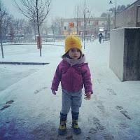 Marica sotto la neve