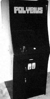 Supuesta foto original de una recreativa de Polybius