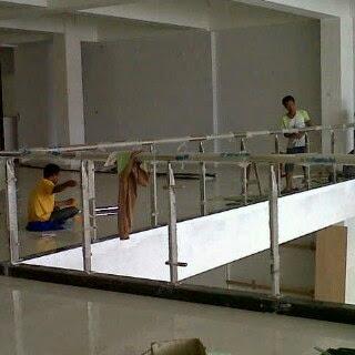 Jasa railling tangga murah minimalis malang surabaya sidoarjo