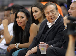 V. STIVIANO PARTIES WITH DONALD STERLING IN INSTAGRAM PIC