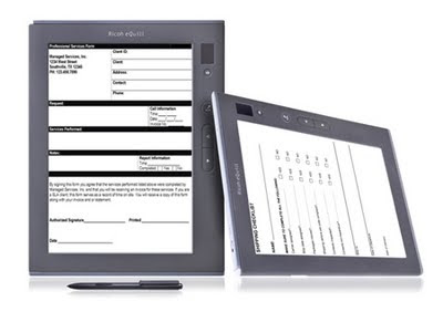 Ricoh's eWriter Solution Preview, Specs, Features ...