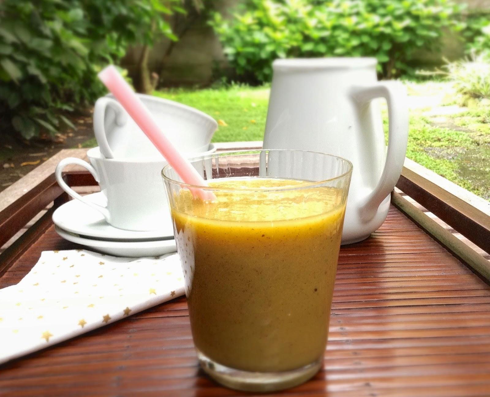 Hoy comemos sano batido detox de manzana y kiwi - Batidos de kiwi ...
