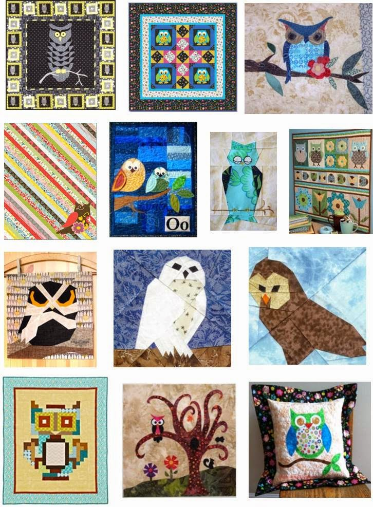 Free Quilt Pattern For Owls : Quilt Inspiration: Free Pattern Day: Owls