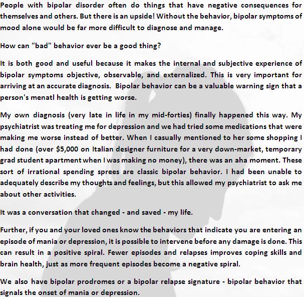 bipolar behavior