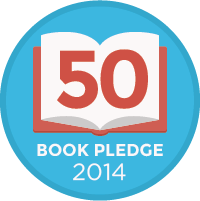 I joined the 50 Book Pledge 2014