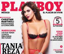 Gatas QB - Tania Reza Playboy Mexico Janeiro 2016