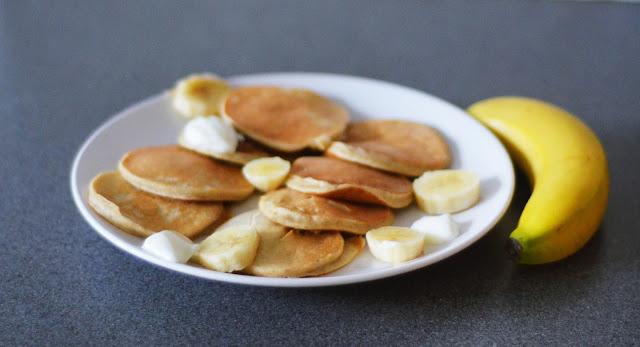 placuszki bananowe fit