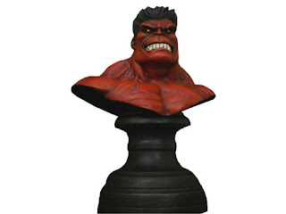 Red Hulk (Marvel Comics) Character Review - Mini Bust Product