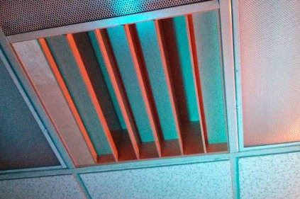 diffuser in drop ceiling, drop ceiling acoustic treatment