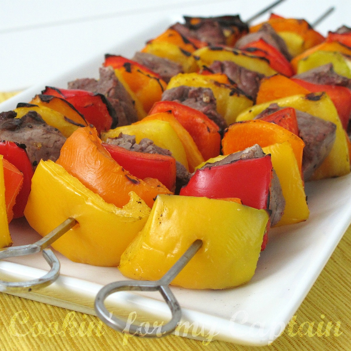 how to make rainbow steak