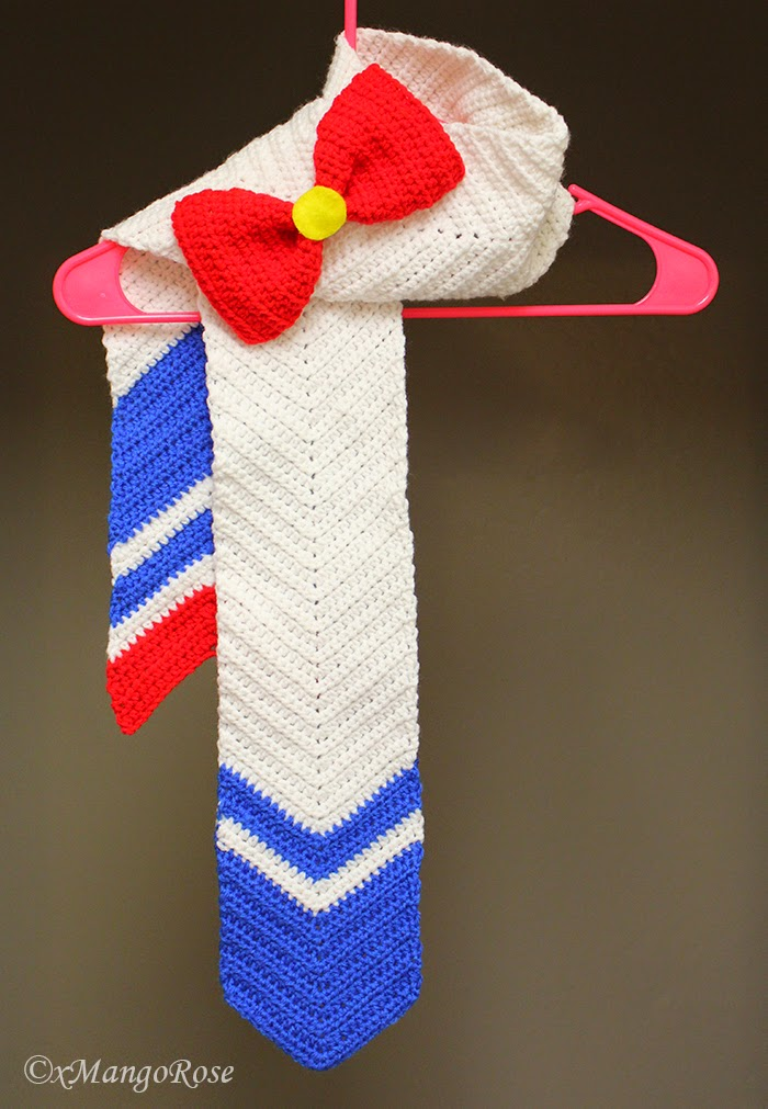 Xmangorose Sailor Moon Inspired Scarf And Slouchy Hat