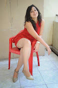Saba Saudagar Glam photo shoot in red-thumbnail-2