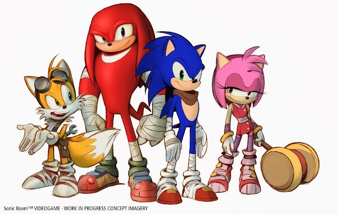 Sonic Boom 3DS and Wii U game annouced