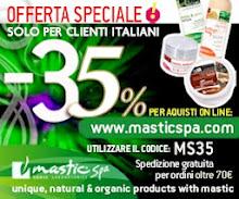 sconto 35% Mastic Spa
