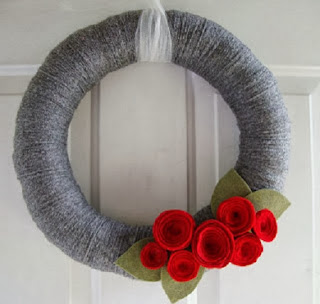 Coronas de Navidad con Lana Reutilizada, III Parte