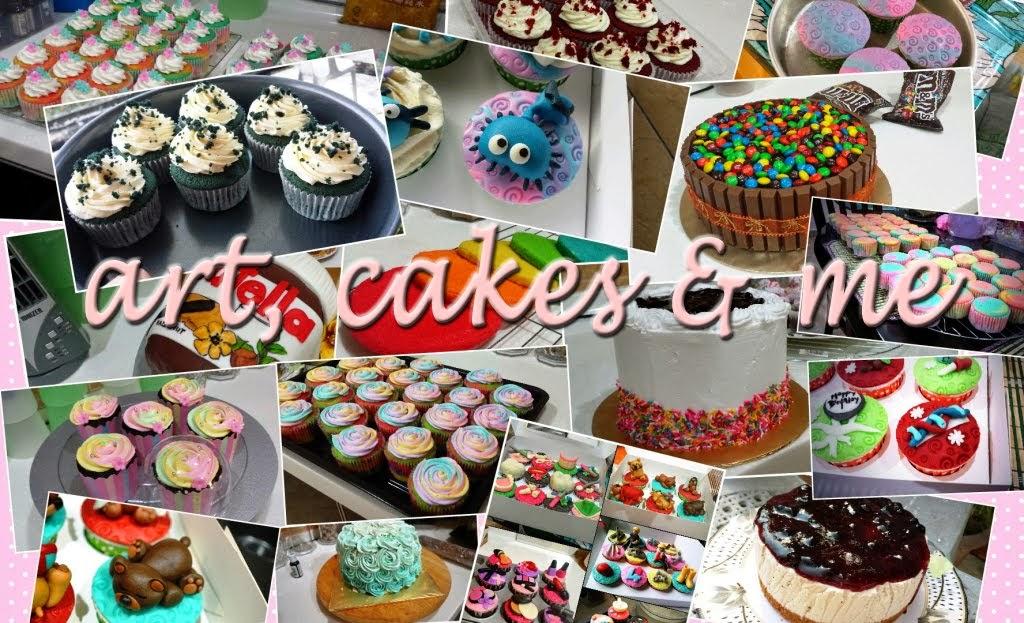 art, cakes & me