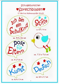 Stickdatei Zwitscherblasen