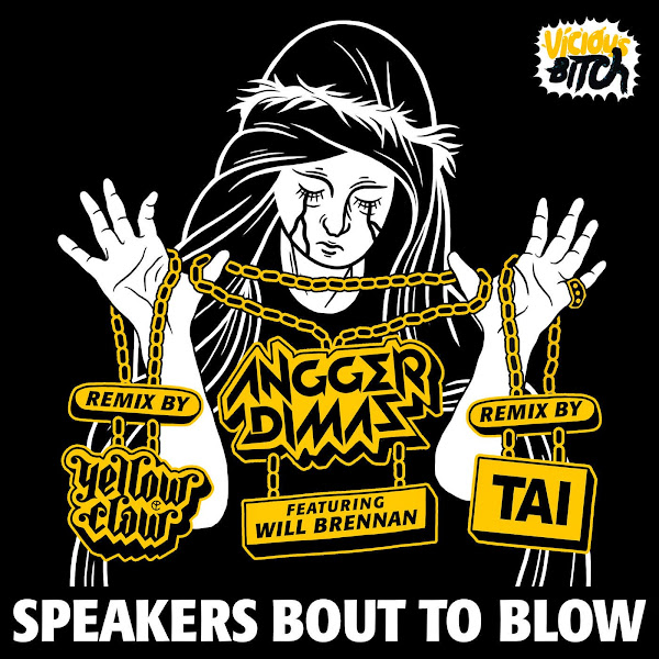 Angger Dimas - Speakers Bout To Blow (feat. Will Brennan) - Single Cover