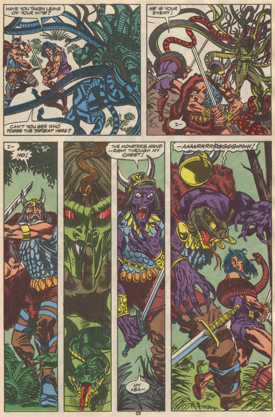 Conan the Barbarian (1970) Issue #237 #249 - English 18
