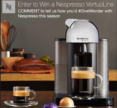 Home Outfitters Nespresso VertuoLine Contest
