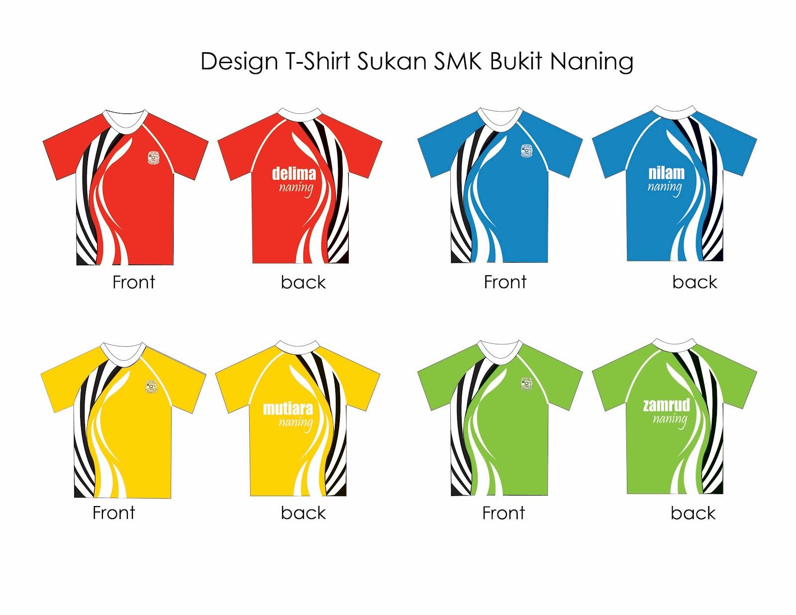 Design t shirt rumah sukan - Reka Bentuk T Shirt Rumah Sukan Smk Bukit Naning 2012