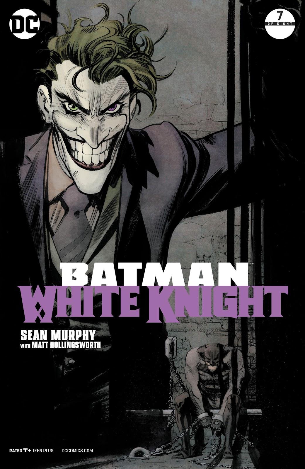 Batman: White Knight 7 Page 1