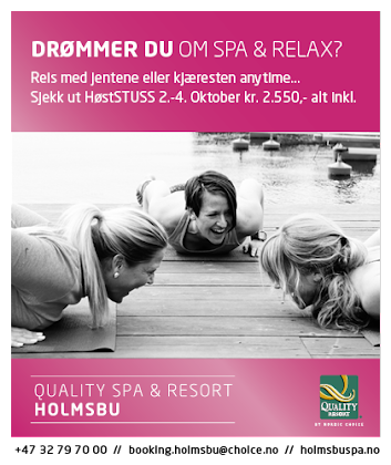 Holmsbu Spa - En perle ved fjorden
