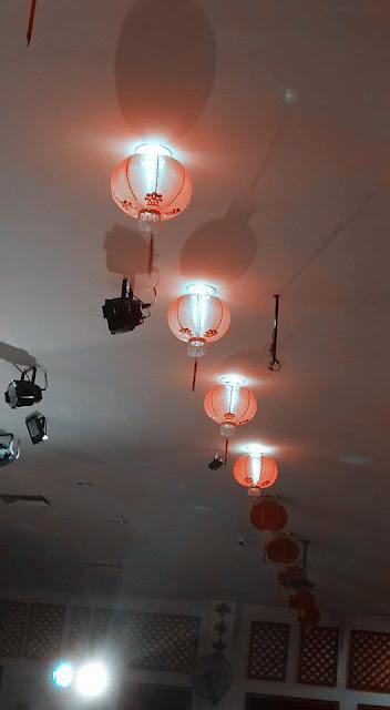 Foto Obyek Cahaya Lantern Dengan Camera Smartphone