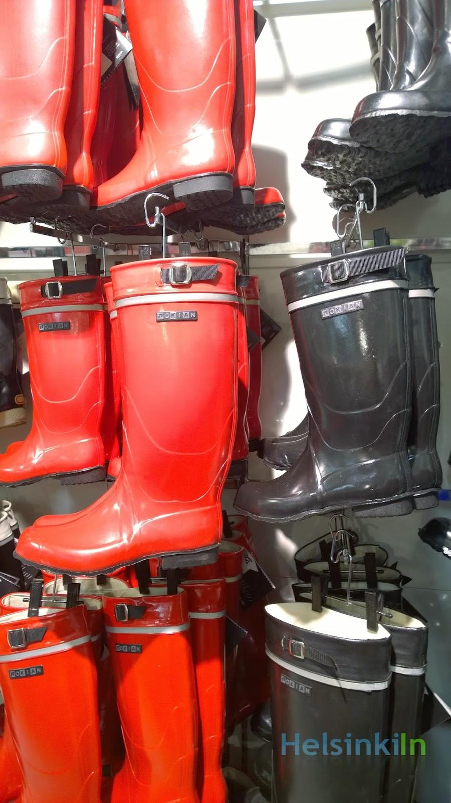 Nokian rubber boots