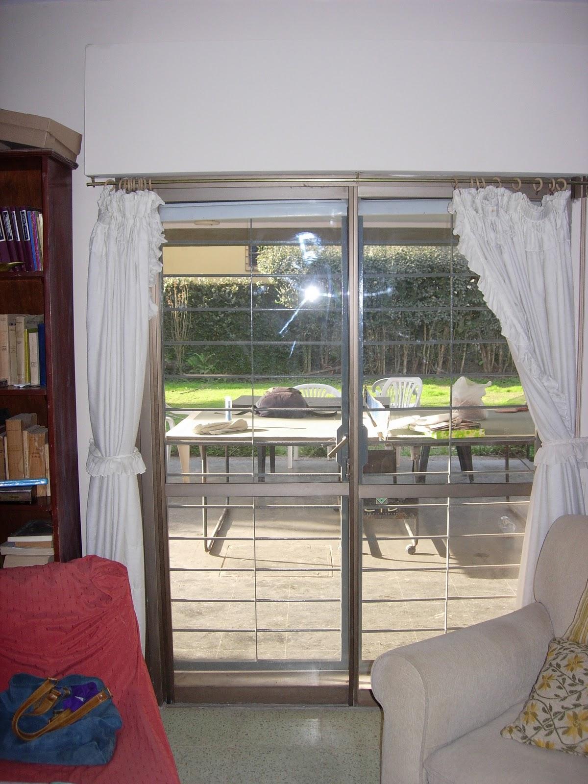 Via dise o carpinter a de aluminio puerta balcon dos - Cortinas para puertas correderas ...