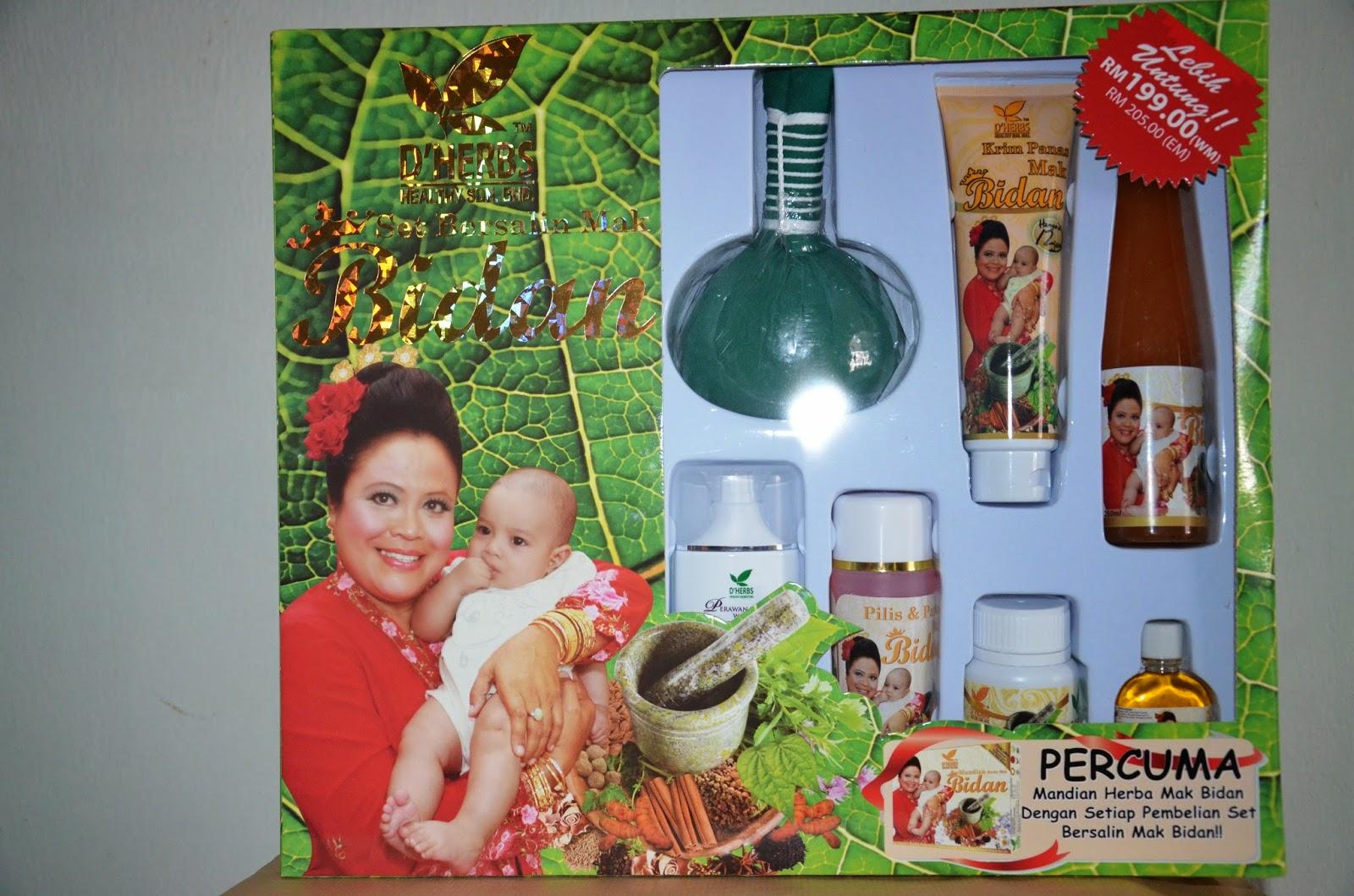 Lynz Beauty Care D39HERBS SET BERSALIN Amp MINYAK