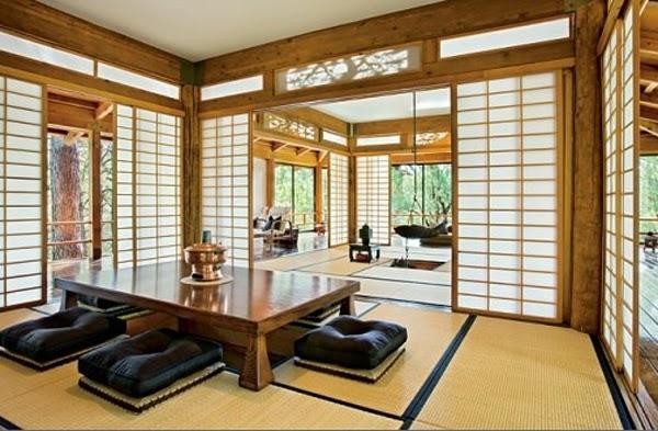 Desain Ruang Tamu Tradisional Jepang