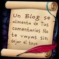 Un blogs se alimenta de tus comentarios no te vayas sin dejar el tuyo . Gracias