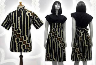 model batik keris