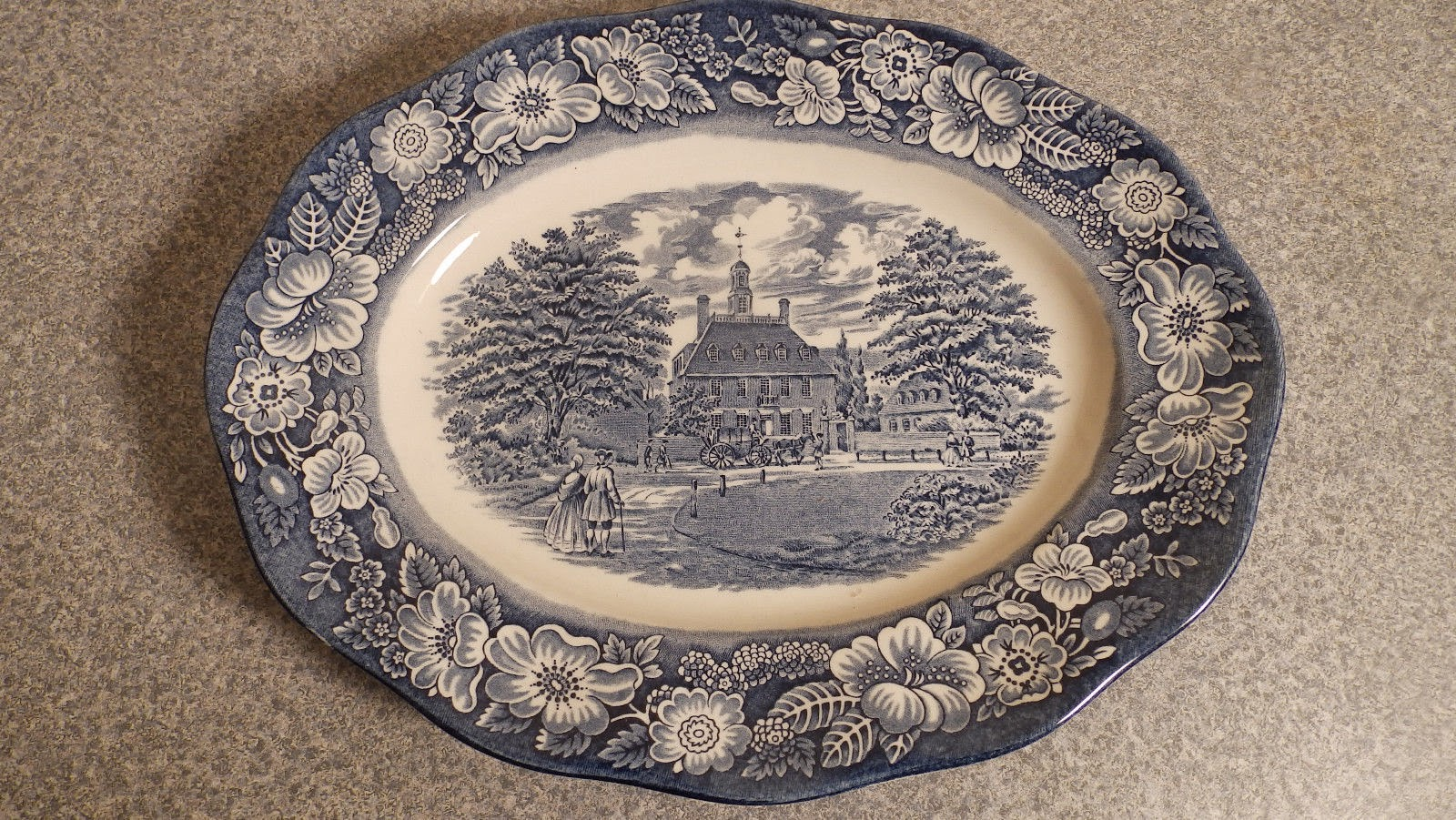 http://www.ebay.com/itm/Staffordshire-Liberty-Blue-platter-12-Governors-Mansion-Williamsburg-Va-/321691128177?pt=LH_DefaultDomain_0&hash=item4ae6491171